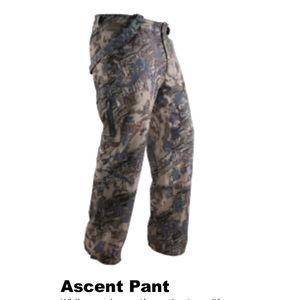 🦌Sitka:  Gear Men's Ascent Pant